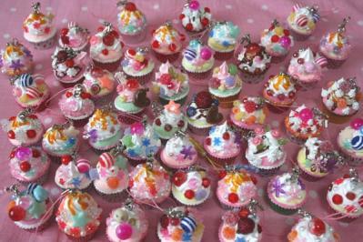 たくさんカップケーキ
