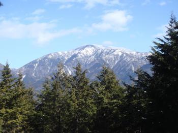 近くからの恵那山
