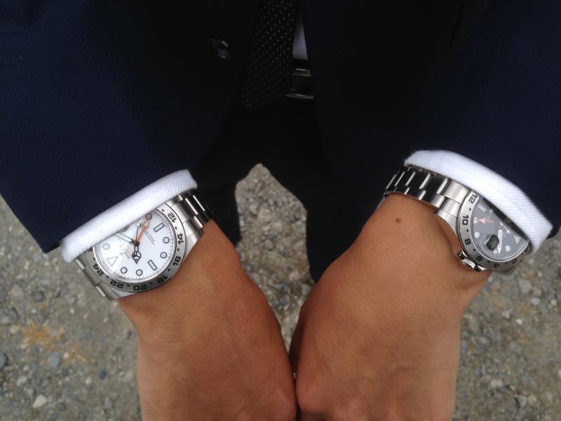 separation shoes a75ab 3b0b0 低価格オーダースーツ・オーダーシャツとROLEXの画像ブログ ...