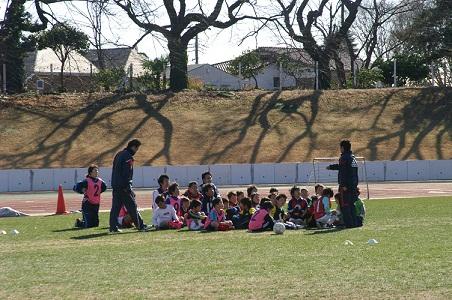 110110女子サッカー教室 016