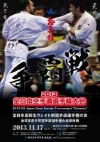 2013争覇戦ポスター
