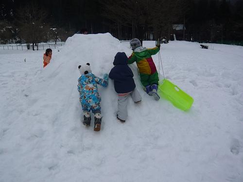 2010年 1月 角川雪遊び (11)