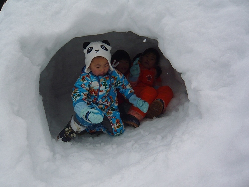 2010年 1月 角川雪遊び (10)