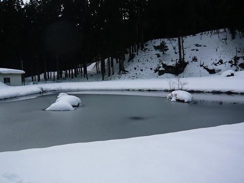 2010年 1月 角川雪遊び (3)