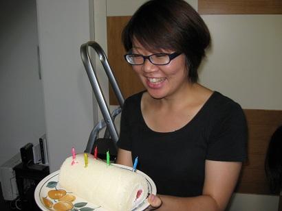 森山さん誕生日