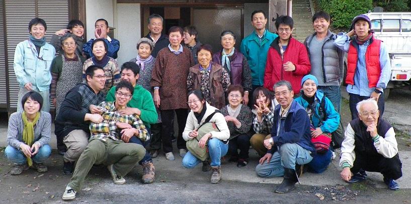 関東集合写真2011年12月