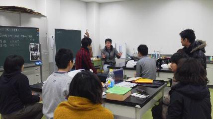 龍谷大学の学生メンバーと顔合わせ!