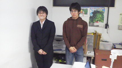 澤本リーダーと井本次期リーダー