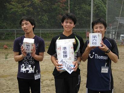 マラソン入賞者