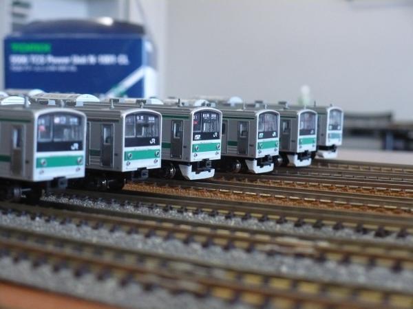 手持ちの埼京線全6本