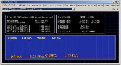 TCP monitor