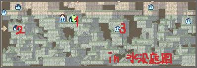 水没庭園MAP