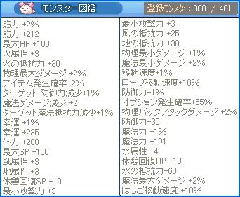 モンスター図鑑★祝300