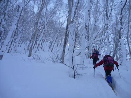 20110115羊蹄山(喜茂別コース) ブログアップ用1