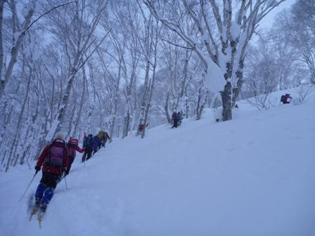 20110115羊蹄山(喜茂別コース) ブログアップ用2