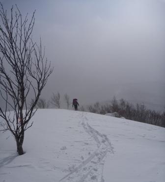 20110130弥五兵衛岳 012