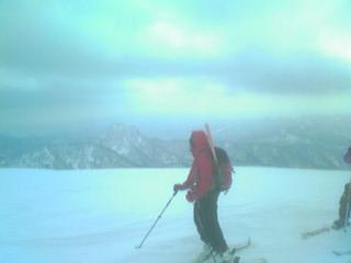 白井岳山頂