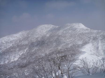 美しい冬山