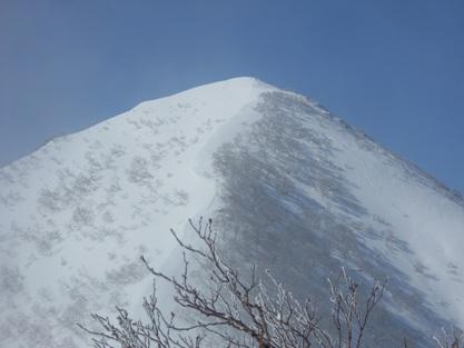野塚岳ピーク