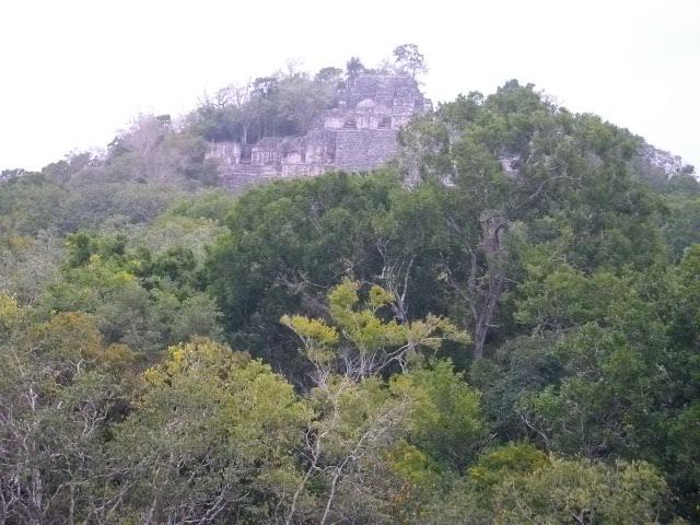 カラクムル第2神殿