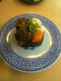 20110423牛すき焼肉