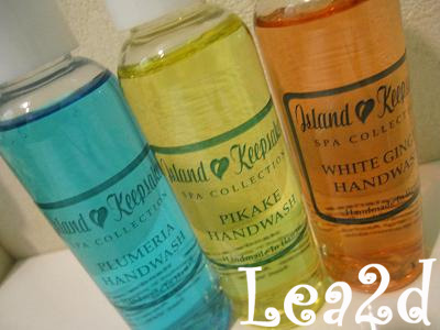 09年1月 HANDWASH - Made in Hawaii Foods