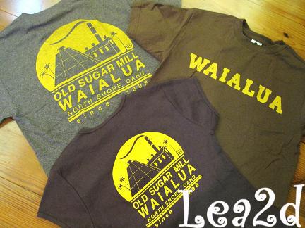 2009年8月-2010年1月 ISLAND X HAWAII のTシャツ