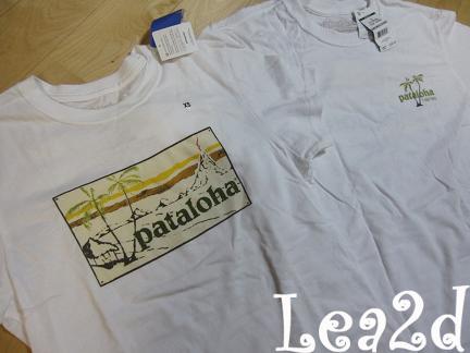 2009年8月、2010年1月 パタロハなTシャツ