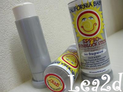 2009年8月 Sunblock Stick - Whole Foods Market