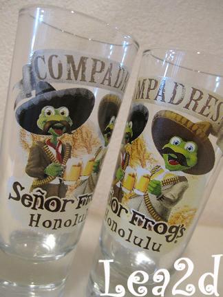 2008年7月 Senor Frog's(セニョールフロッグス)で購入したショットグラス