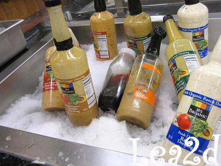 2009年1月 Whole Foods Market Hawaii(Honolulu)ハワイのホールフーズマーケットで買う。デリで朝食