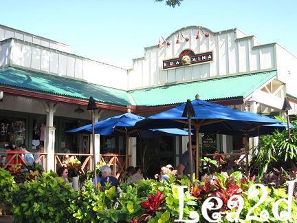 2009年1月 KUA'AINA(クアアイナ)本店 ハレイワ店(Haleiwa) 店内