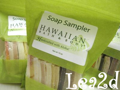 2009年1月 Soap Sampler - North Shore Soap Factory
