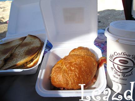 2009年8月 待望の!?初、ココ・コーブの朝食デリ