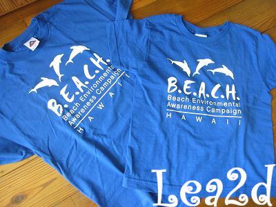 2009年8月 B.E.A.C.H のTシャツ