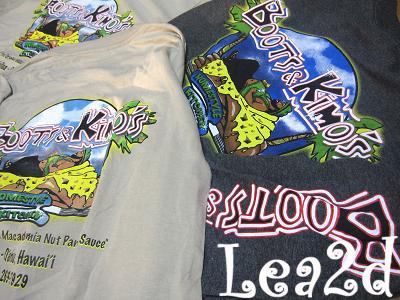 2010年1月 BOOTS&KIMO'S のTシャツ