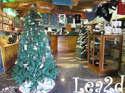 COFFEE GALLERYのクリスマスな店内