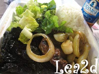 2010年1月 ポータベロ バーガー プレートとマーケットのサラダ