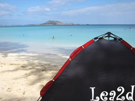 2010年1月 Kailua Beach(カイルアビーチ)は施設充実? ブログへ移動