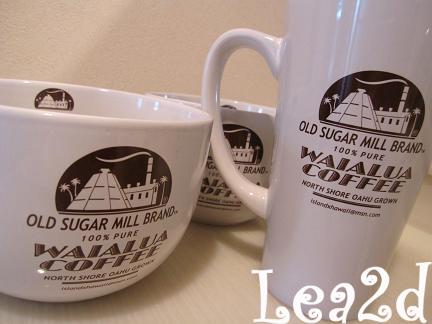 2010年1月 アイランドXハワイのショップロゴ入りカップがお気に入り その1