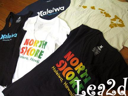 2010年8月 Surf-n-Sea & Hurley のTシャツ