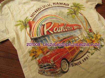 2010年8月 Malibu Shirts のTシャツ
