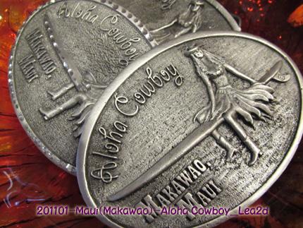 2011年1月 マウイ島のカウボーイの町、マカワオのカウボーイグッズ店、アロハカウボーイ、店内の様子5