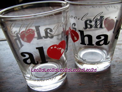 2010年8月 Heart of Aloha(ハートオブアロハ)のショットグラス