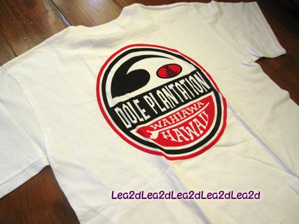 2009年8月 Dole Plantation のTシャツ