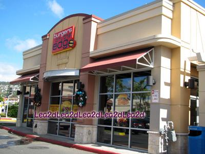 2011年1月 Burgers on the Edge(バーガーズ・オン・ザ・エッジ)初入店