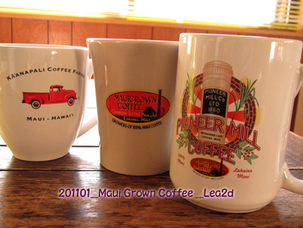2011年1月 Maui Grown Coffee Company Storeのカップ