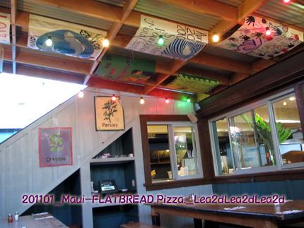 2011年1月 PAIAのPizza FALTBREAD Co