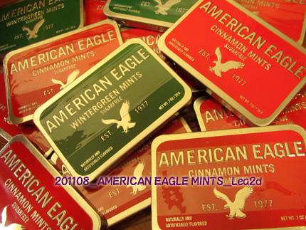 2011年8月 アメリカンイーグルのミント缶