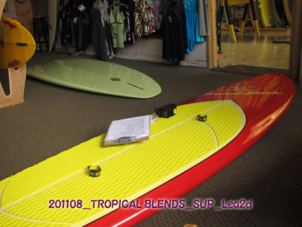 2011年8月 TROPICAL BLENDSのSUPボード購入するならサイズはどれ?